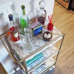 IKEA Sunnersta DIY Bar Cart