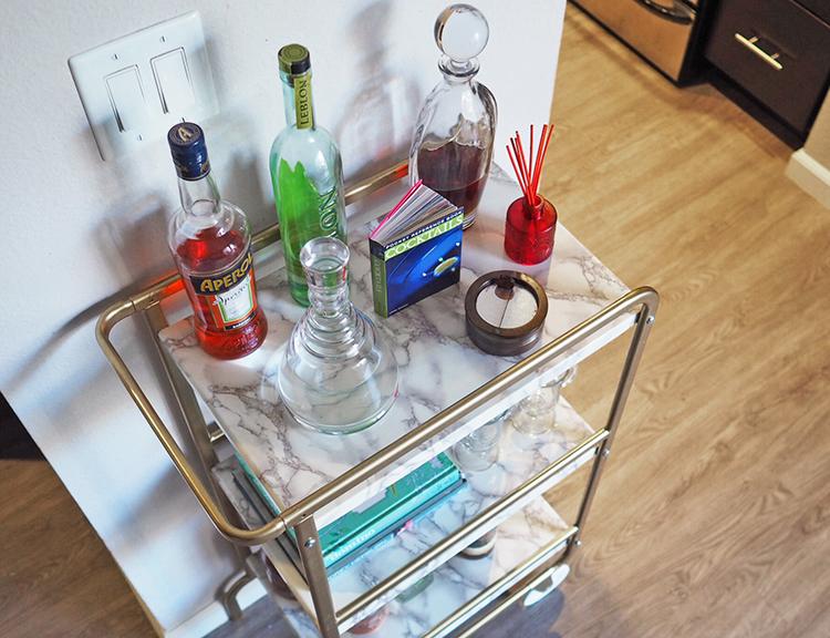 Le célèbre IKEA Sunnersta DIY Bar Cart | Musings on Momentum @QV_99