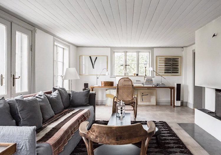 Tranquil Swedish Home Tour