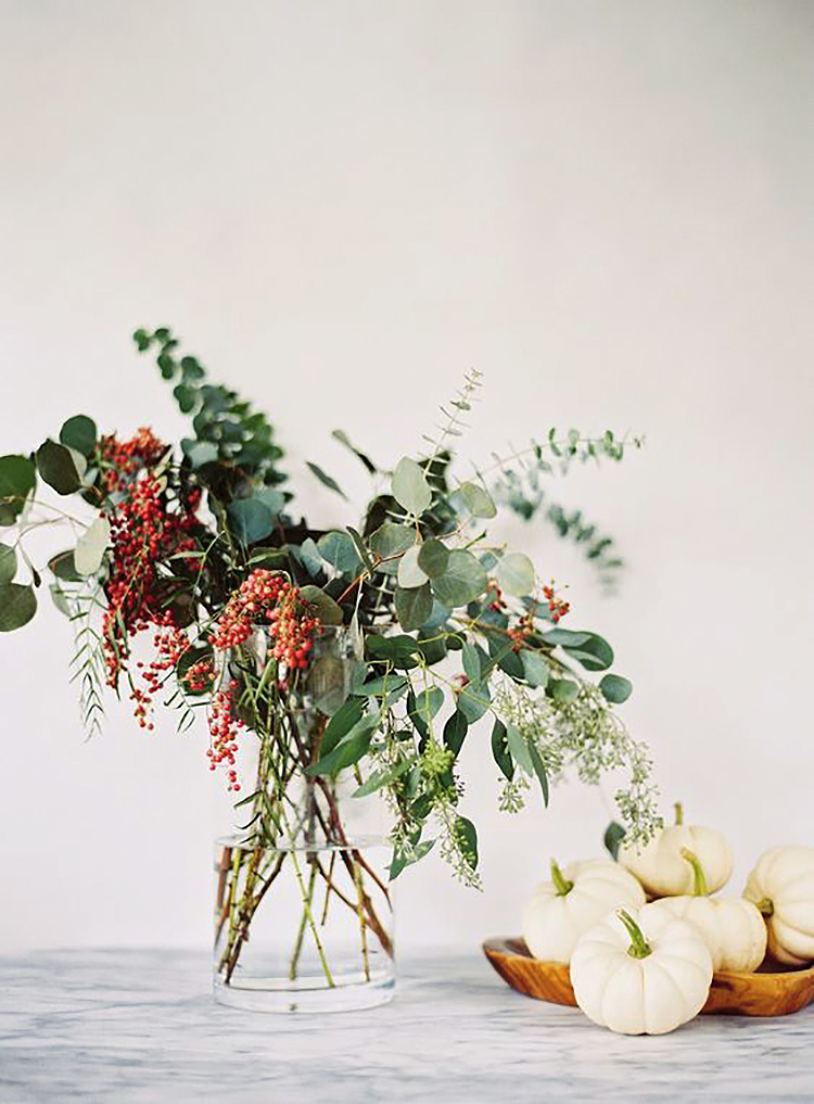 minimalist fall decor musings on momentum