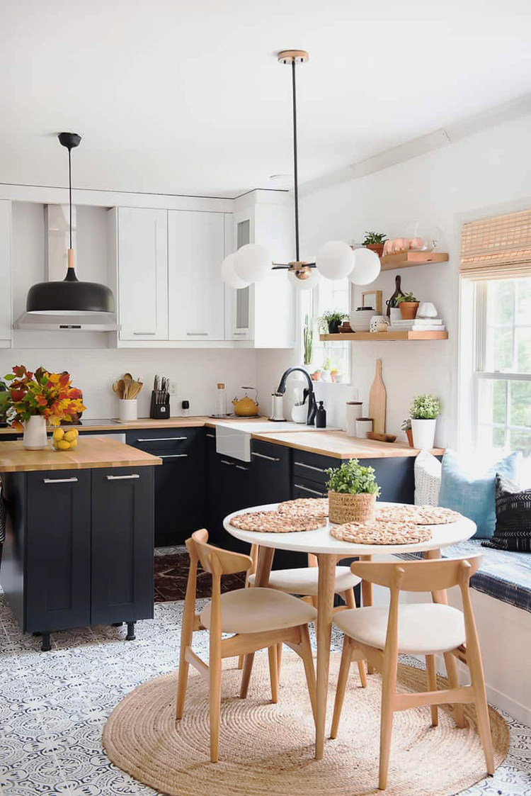 Kitchen Bath Remodel Gives Mid Century Home Modern Updates: Musings On Momentum