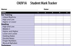 CMJV1A Student Mark Tracker