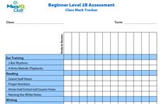CMJV2-B: Assessment Class