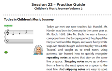 Week 22C: Practice Sheet