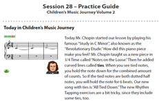 Week 28C: Practice Sheet