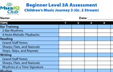 CMJV3 A: Assessment Grade 2 Stream