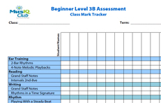 CMJV3-B: Class Mark Tracker