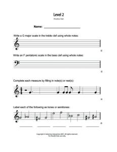 L2: Assessment Practice Written Test