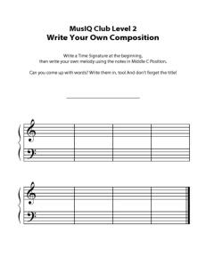 L2: Composition Middle C