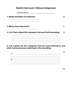 L3: History Assignment