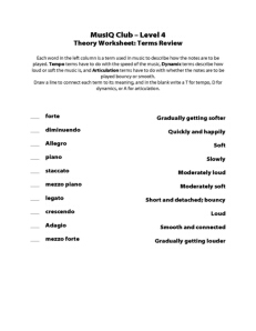 L5: TH Terms Review