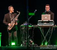 i Musique Boutique DeeJay set & Sax aprono il concerto di Elisa e Amici a Cividale