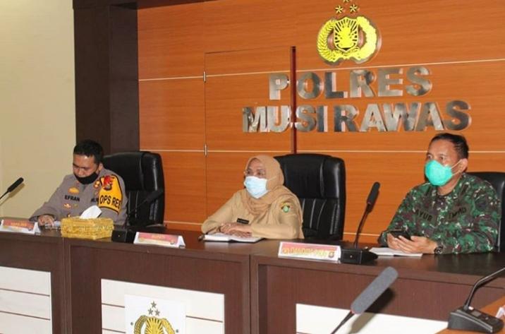 Wabup Ikuti Rakor Pengamanan dan Penindakan Protokol Kesehatan Perayaan Idul Fitri