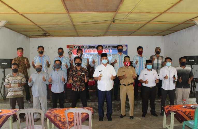 Bupati H2G : Program Akrab Desa untuk Membina dan Melihat Desa Secara Langsung