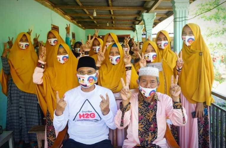 H2G Sosok Pemimpin Religius, Didukung Ibu-ibu Pengajian STL Ulu Terawas