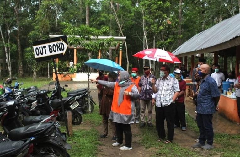 Pjs Bupati Musi Rawas Tinjau Objek Wisata Bukit Cogong
