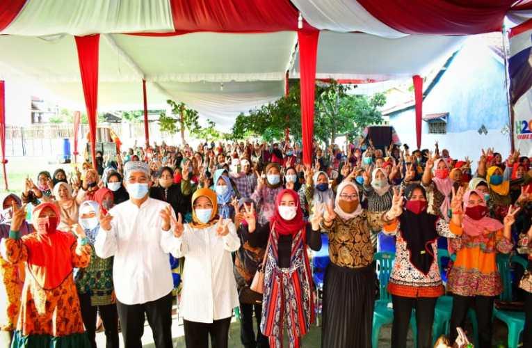 Relawan Emak Emak Lakitan-Kelingi Siap Menangkan H2G Mulya