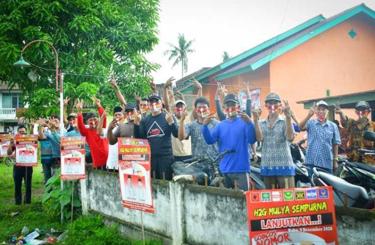 Petani di Kecamatan Sumber Harta Sepakat Menangkan H2G-Mulya