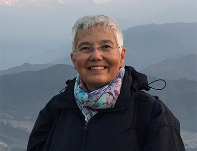 Kathy Tosa in Nepal