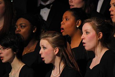 MCC student singers