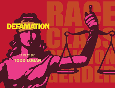 Defamation: The Play graphic