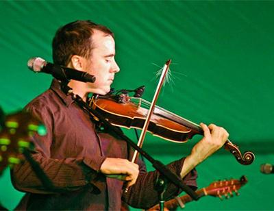 Michigan Irish Festival fiddler