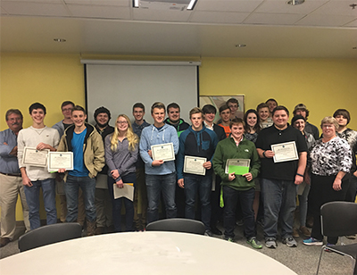 Participants in the 30th Annual CAD Design Contest