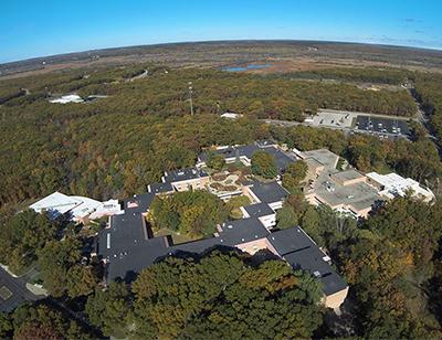 Aerial view od main MCC campus
