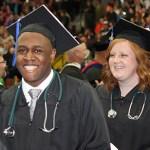 MCC 2016 Nursing Graduates Quinton Davis and Kelsey DeBoer