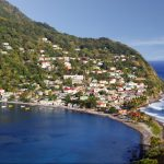 Fishing village in Dominica