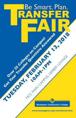 Transfer Fair February 2018 Poster