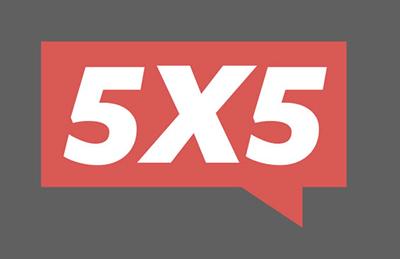 5x5 Night logo