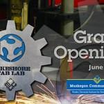 Entrepreneur Institute and Fab Lab Opening Logo