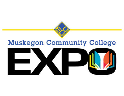 Muskegon Community College EXPO logo