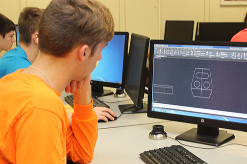CAD/Drafting Contest participant