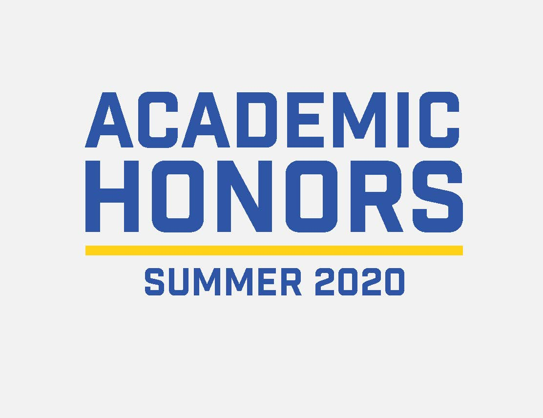 Summer Academic Honors graphic