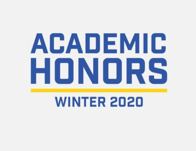 Winter 2020 Academic Honors logo