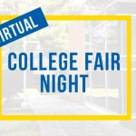 Virtual College Fair Night graphic