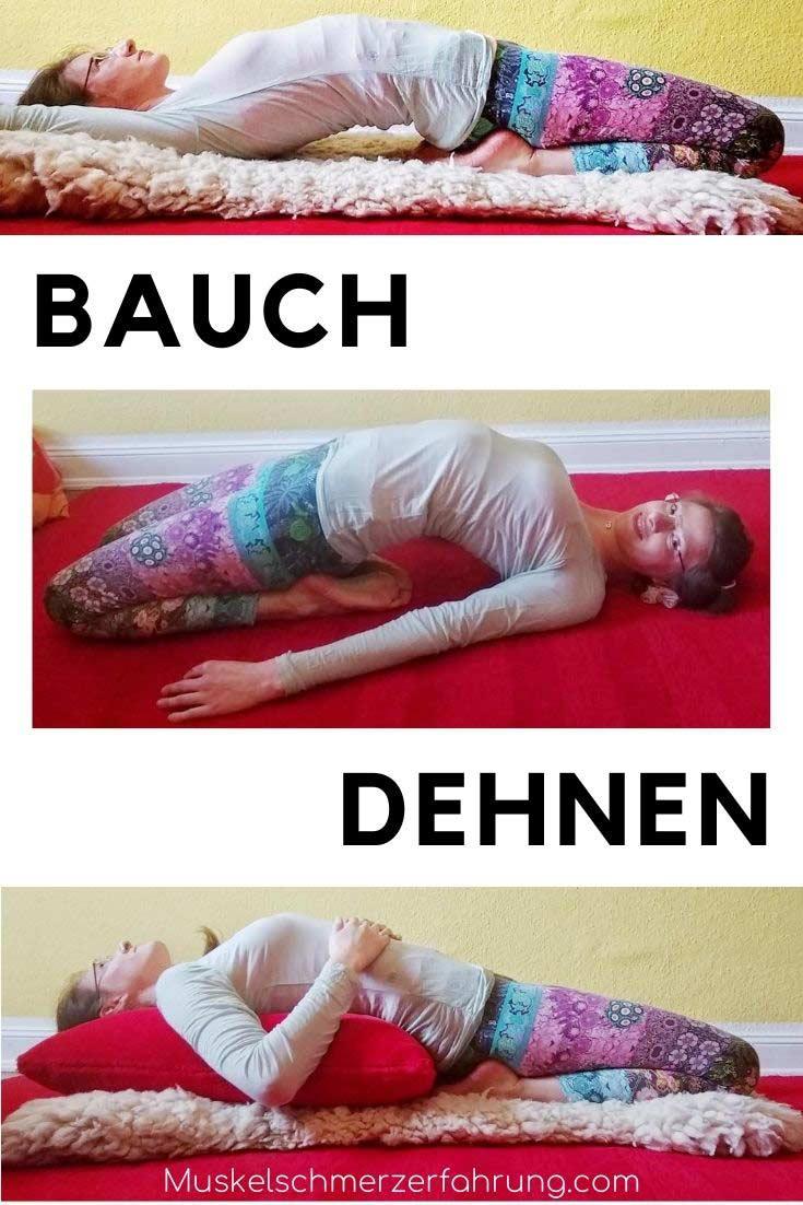 Bauch dehnen