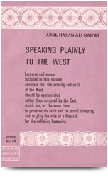 Speaking Plainly to the West
