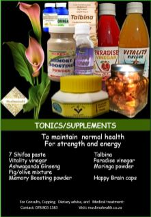 TONICS & SUPPLEMENTS