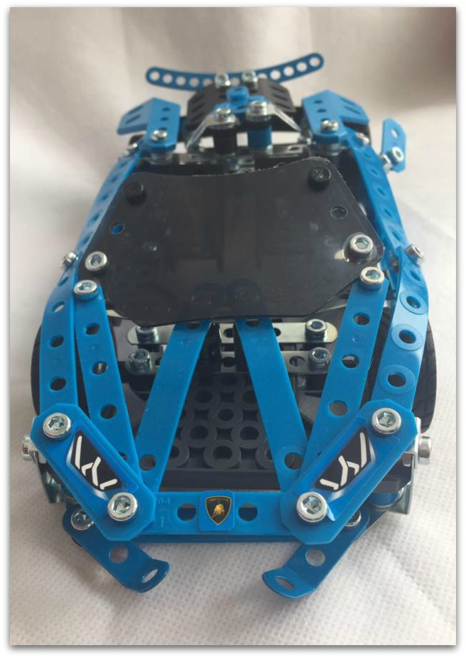 Completed Meccano Huracan Spyder