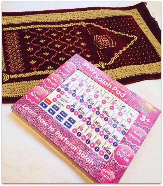 iPray Salah Pad and prayer mat