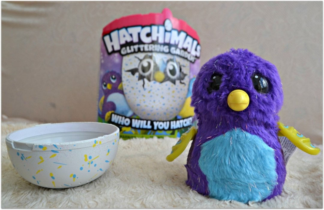 Glitter Hatchimal Hatched