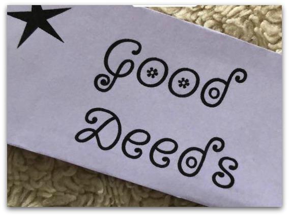 Good Deeds label