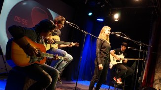 Newcomerband bei vielen Contests: Since April