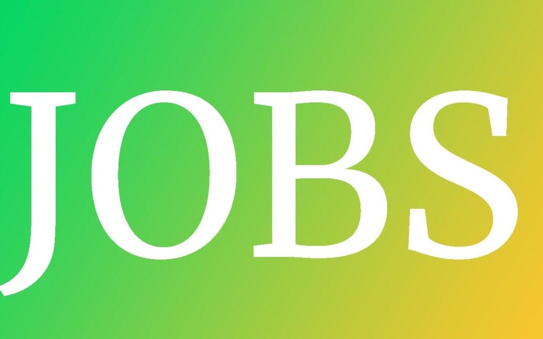 July 2019 Jobs