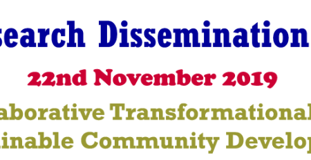 MUST 15th Annual Research Dissemination Conference
