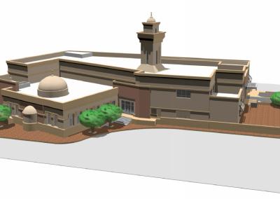 Mosque at ADNOC Ruwais Housing Complex Expansion