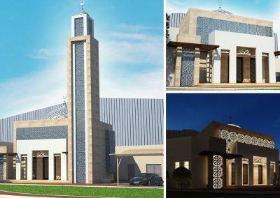 Mosque at Abu Dhabi Business Hub